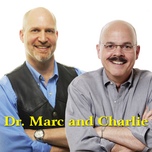 Dr. Marc Kossmann and Charlie Seymour Jr, founders of The Video Marketing Guys
