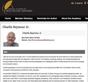 NatlAcademyOfBestSellingAuthors Charlie